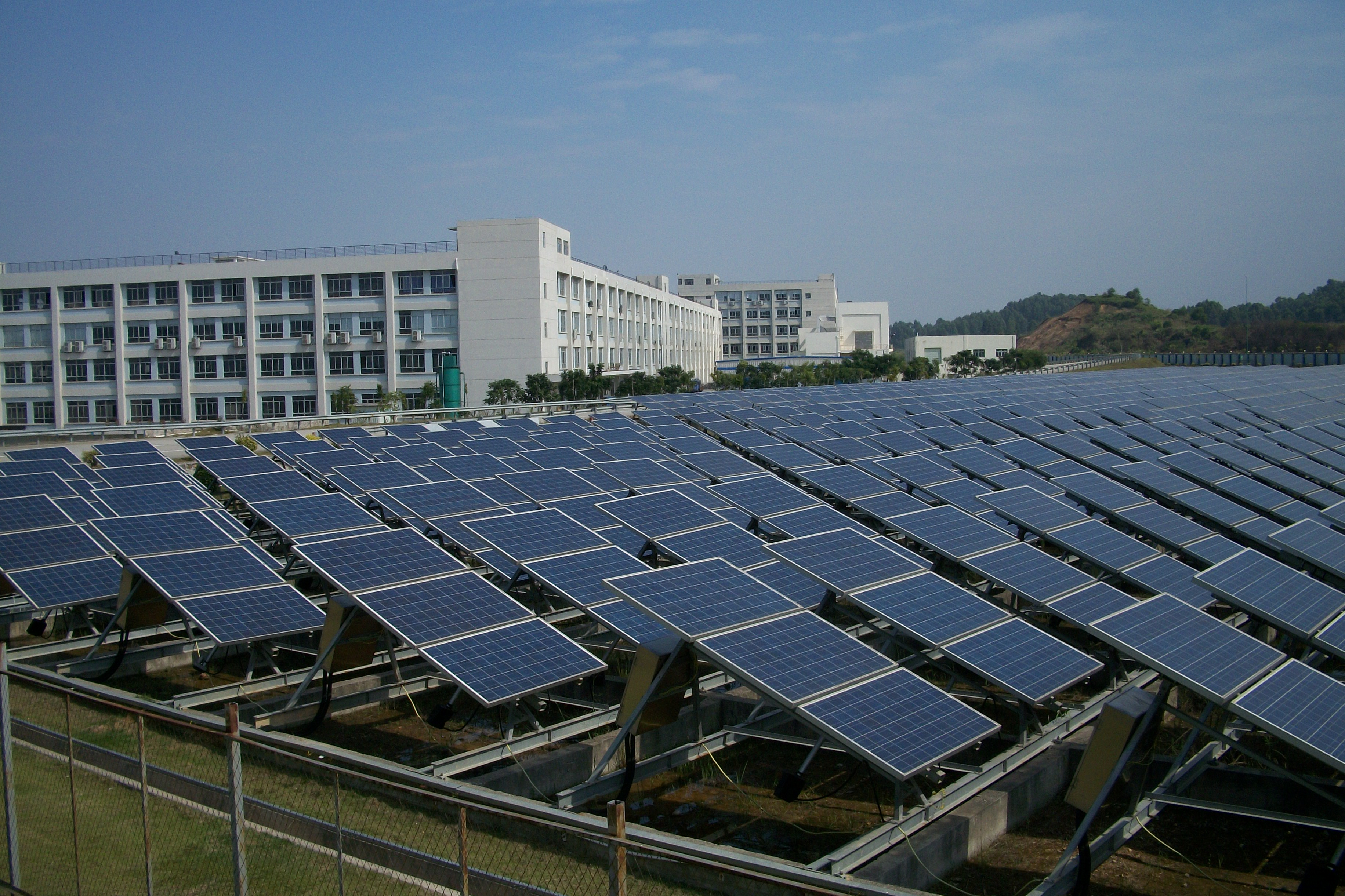 Visiting byd in china it does a lot more than electric for Solar ranch