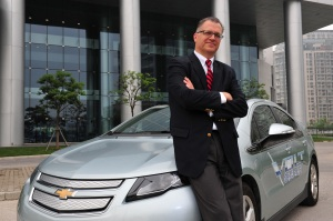 Ray Bierzynski left his position as executive director of electrification strategy at GM China to become EVP of its joint venture with SAIC and Wuling.  Will part of his new job be chief diplomat?