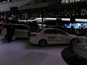 This PHEV by SAIC was on display at last years auto show but how much of the technology was developed by SAIC?