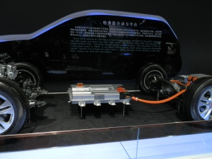 Great Wall was showing a PHEV at the Shanghai show this year but isn't producing them.