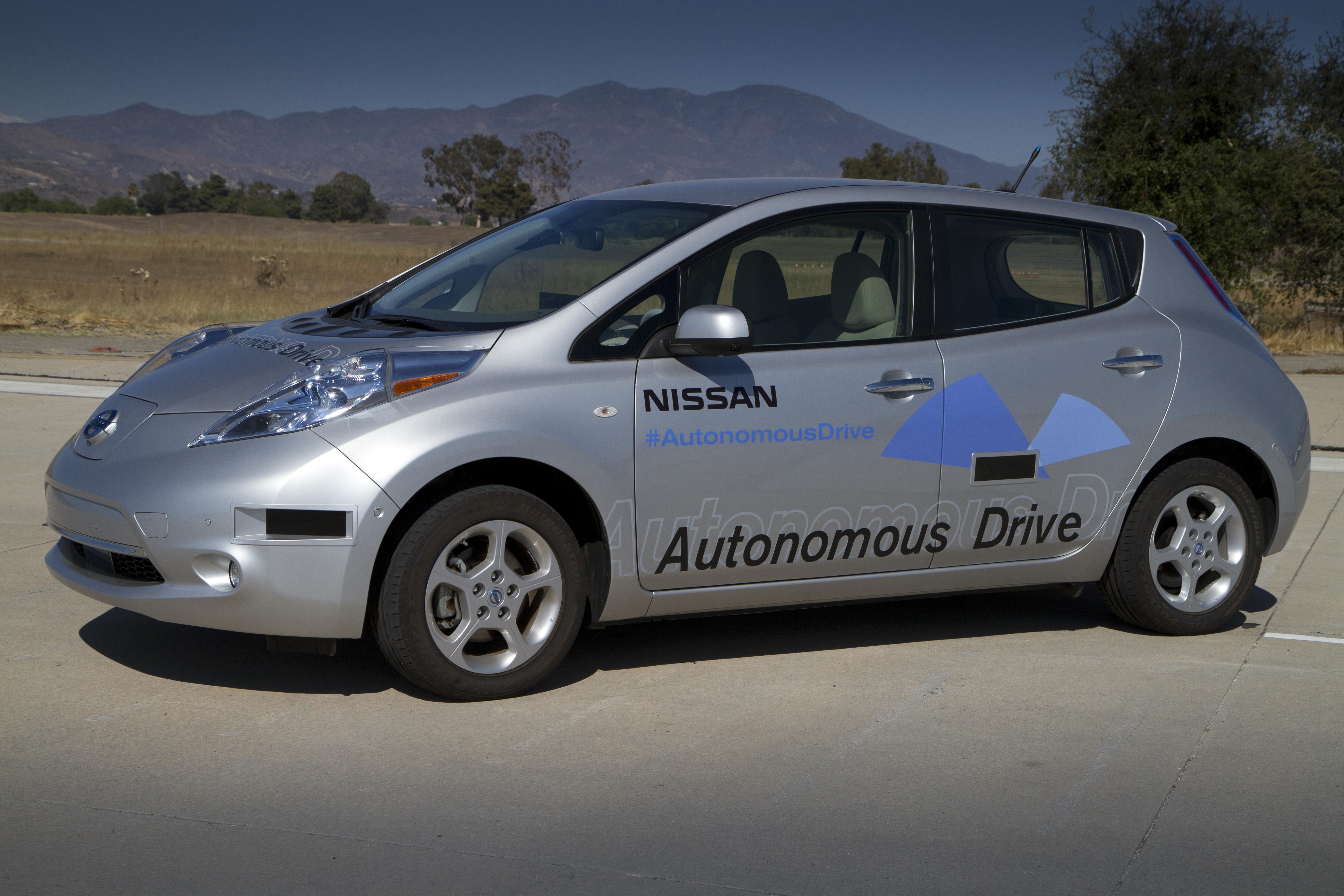 Nissan Autonomous Leaf Sets Me Dreaming Of What Could Be