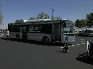 The ebus is already rolling around various cities and campuses worldwide.