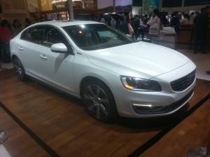 Volvo, now owned by China's Geely Auto, showed this S60L PHEV concept at the Beijing show.  But when it will come to market is unclear.