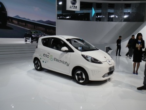 SAIC trotted out its e50 EV again.