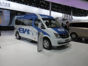 SAIC's electric van