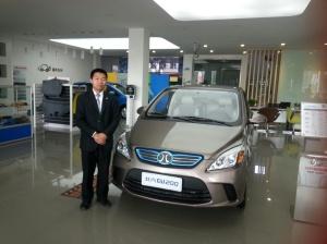 Mr. Li has sold 180 BEVs in the last rhree months.